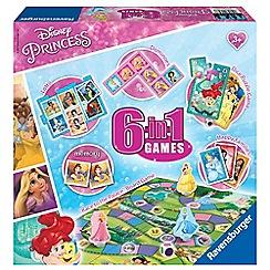 Disney Princess - 6 in 1 Games