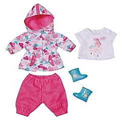 Baby Born - Fun in the Rain Deluxe Dress-up Set