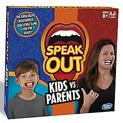 Hasbro Gaming - Speak Out Kids vs Parents Game
