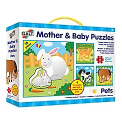 Galt - Four 16-Piece Puzzles With One Piece In The Shape Of The Baby Animal.