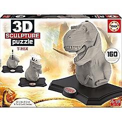 KD UK - 3D Sculpture Puzzle - T-Rex