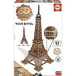 KD UK - 3D Monument Puzzle - Eiffel Tower