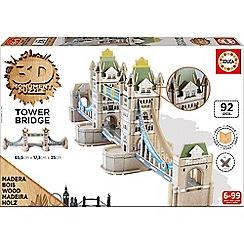 KD UK - 3D Monument Puzzle - Tower Bridge