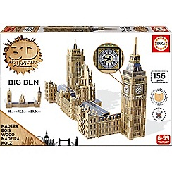 KD UK - 3D Monument Puzzle - Big Ben & Parliament