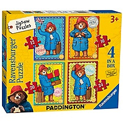 Ravensburger - Paddington Bear 4 in a box (12, 16, 20, 24pc) Jigsaw Puzzles