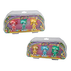 Glimmies - Rainbow friends triple pack assorted