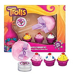 Trolls - Lip Gloss & Shimmer Set