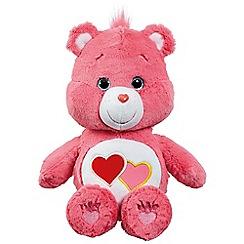 Care Bears - Medium Plush with DVD Love-a-Lot Bear