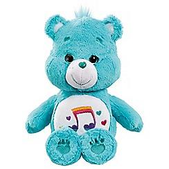 Care Bears - Medium Plush with DVD Heart Song Bear