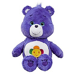 Care Bears - Medium Plush with DVD Harmony Bear