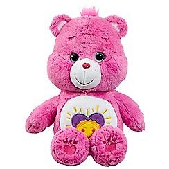 Care Bears - Medium Plush with DVD Shine Bright Bear