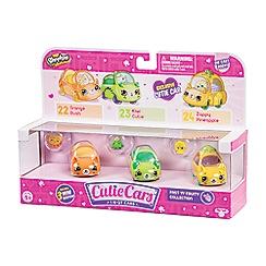Shopkins - Cutie Cars 3 Pack - Juicy Fruits