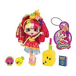 Shopkins - Shoppies world vacation donatina themed dolls