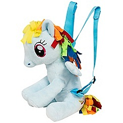My Little Pony - Rainbow Dash Character Plush Backpack
