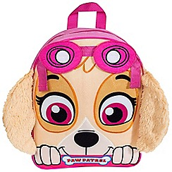 Paw Patrol - Skye Embroidered Plush Front Backpack