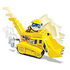 Paw Patrol - Super Rubble Vehicle With Pup