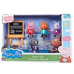 Peppa Pig - Classroom Playset