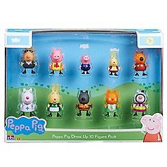 Peppa Pig - Dress Up 10 Figure pack