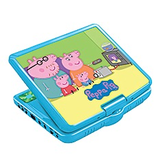 Peppa Pig - Portable DVD Player