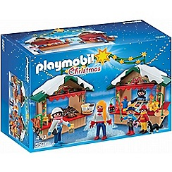 Playmobil - Christmas Fair - 5587