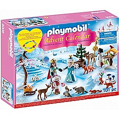 Playmobil - Advent Calendar 'Royal Ice Skating Trip' with a Children's Bracelet - 9008