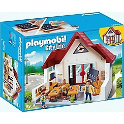Playmobil - City Life School House with Moveable Clock Hands - 6865