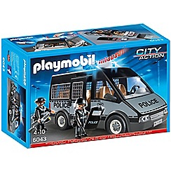 Playmobil - Police Van with Lights and Sound - 6043