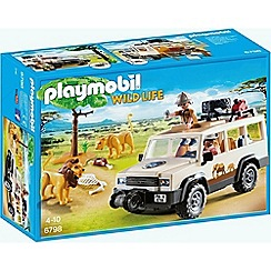 Playmobil - Wildlife Safari Truck with Lions - 6798