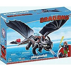 Playmobil - Dragons© Hiccup & Toothless with LED Light Effects - 9246