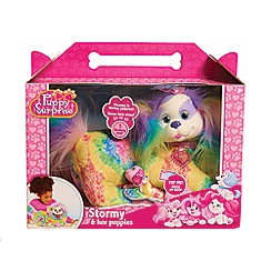 Flair - Puppy Surprise Plush: Stormy (Tie Dye)