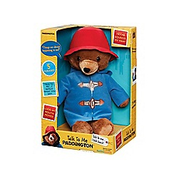 Paddington Bear - Talk To Me Talking Toy
