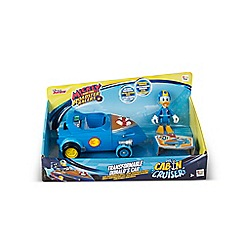 Mickey Mouse Clubhouse - Donald Transformable Cabin Cruiser - Vehicle