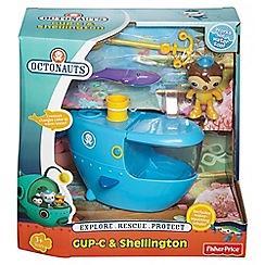 Octonauts - Fisher-Price Gup-C and Shellington