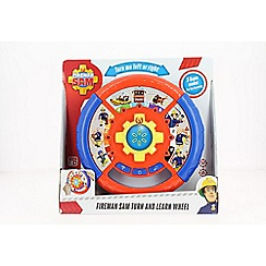 Fireman Sam - Turn & Learn Wheel