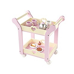 Early Learning Centre - Wooden Tea Trolley