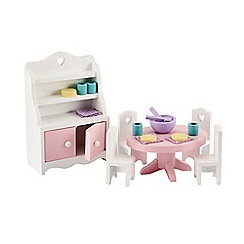 Early Learning Centre - Rosebud House Dining Room Furniture Set