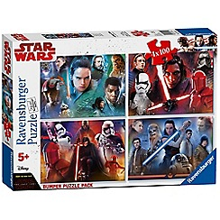 Star Wars - 4 x 100Pc Jigsaw Puzzle Bumper Pack
