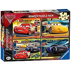 Disney Cars - 3, 4x 42pc Jigsaw Puzzle Bumper Pack