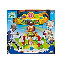 WinFun - 4-In-1 Fun Goal Set