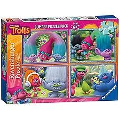 Trolls - 4x 100pc Jigsaw Puzzle Bumper Pack
