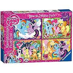 My Little Pony - 4x 42pc Jigsaw Puzzle Bumper Pack
