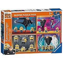 Despicable Me - 3, 4x 100pc Jigsaw Puzzle Bumper Pack