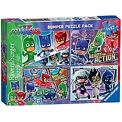 PJ Masks - 4x 42pc Jigsaw Puzzle Bumper Pack