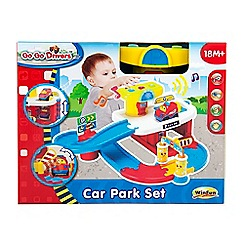 WinFun - Go Go Drivers Car Park Set