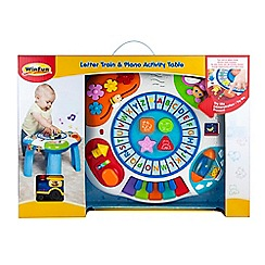 WinFun - Piano Activity Table or Letter Train