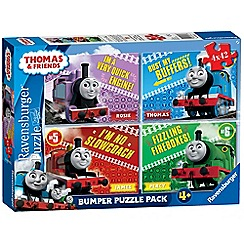 Thomas & Friends - 4 x 42pc Jigsaw Puzzle Bumper Pack