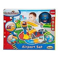 WinFun - Go Go Drivers Airport Set