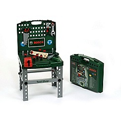 Theo klein - Bosch Tool Shop, Foldable Workbench With Accessories