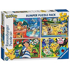 Pokemon - 4x 100pc Jigsaw Puzzle Bumper Pack