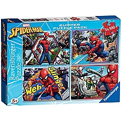 Spider-man - 4x 100pc Jigsaw Puzzle Bumper Pack